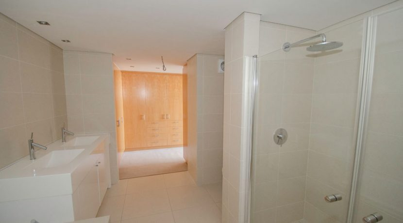 downstairs bathroom to dressing