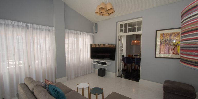 tv room to dining