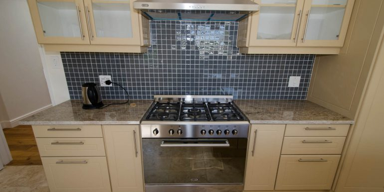 Kitchen stove and counter