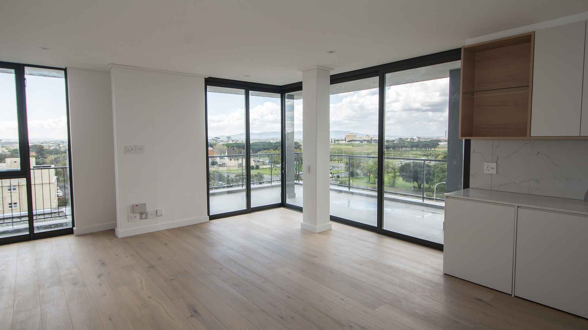 Brand new designer WITH FULLY CURTAINED apartment in The Augusta