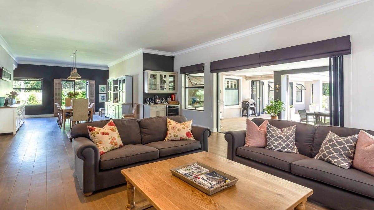 Spectacular fully furnished modern home in secure estate